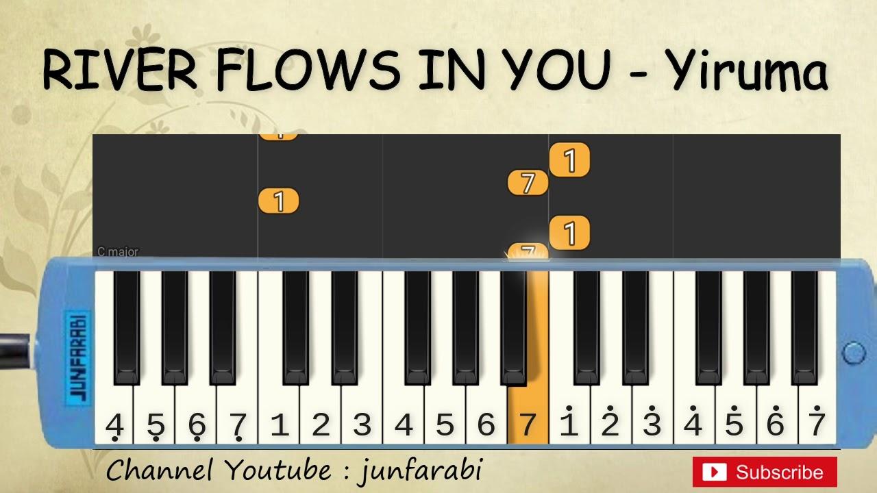 Not Pianika River Flows In You Yiruma Tutorial Belajar Not Pianika Blog Okuta
