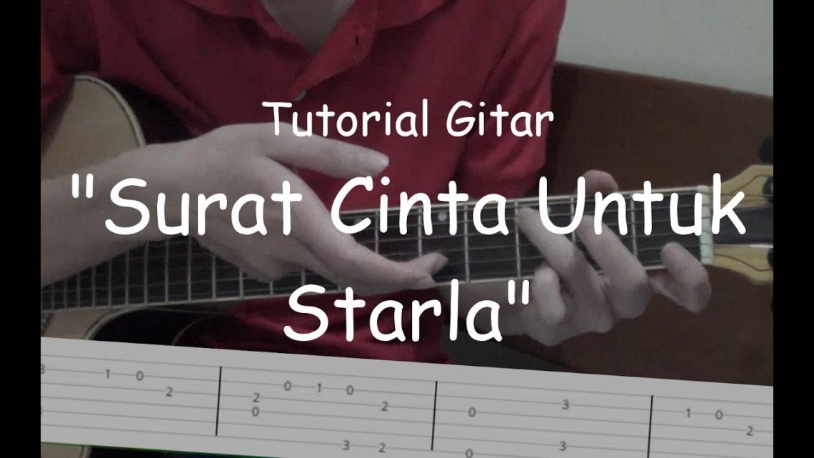 Belajar Gitar Surat Cinta Untuk Starla Virgoun Blog Okuta
