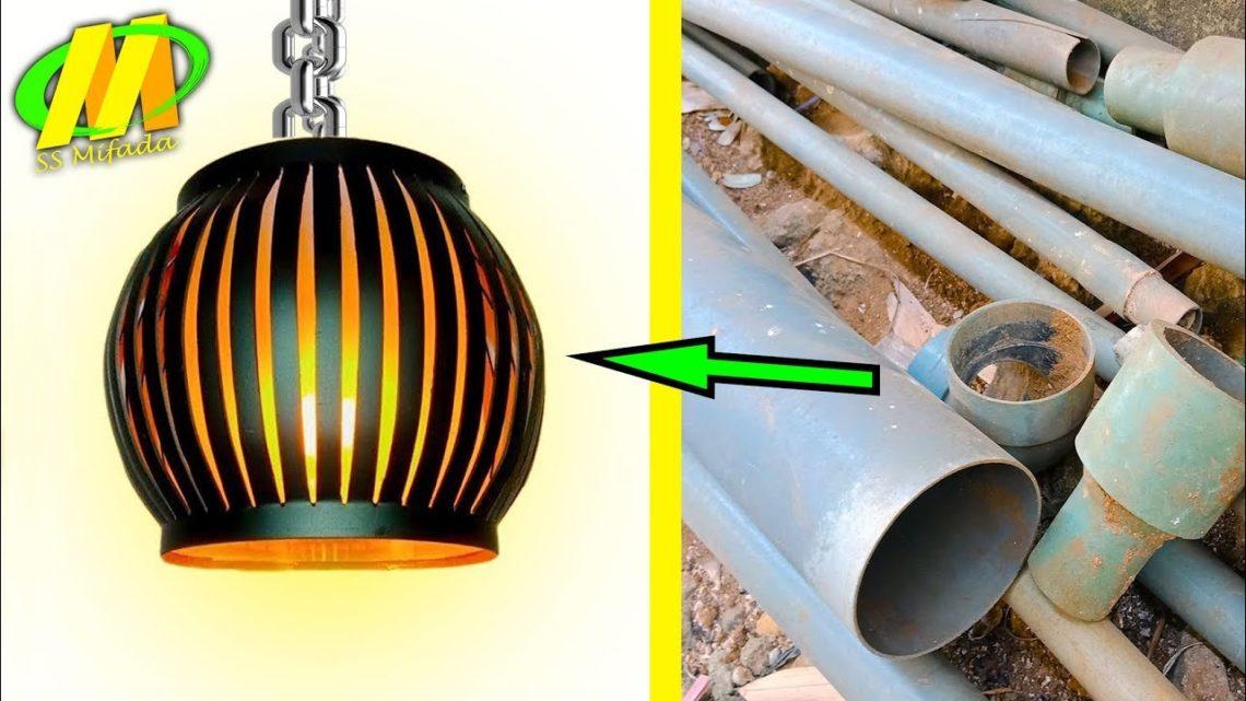 Tutorial Membuat Lampu Lampion Dari Pipa Air Kerajinan Peluang Bisnis Blog Okuta