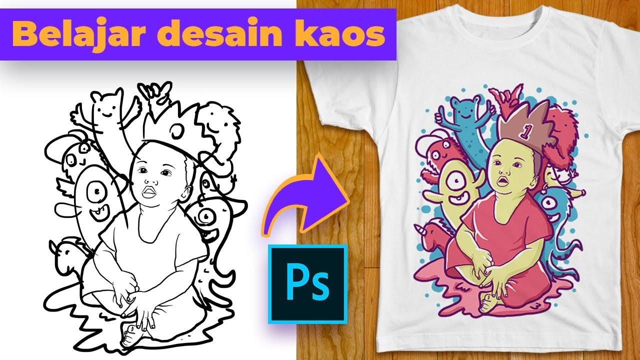 Cara membuat desain kaos doodle di adobe photoshop - Blog ...