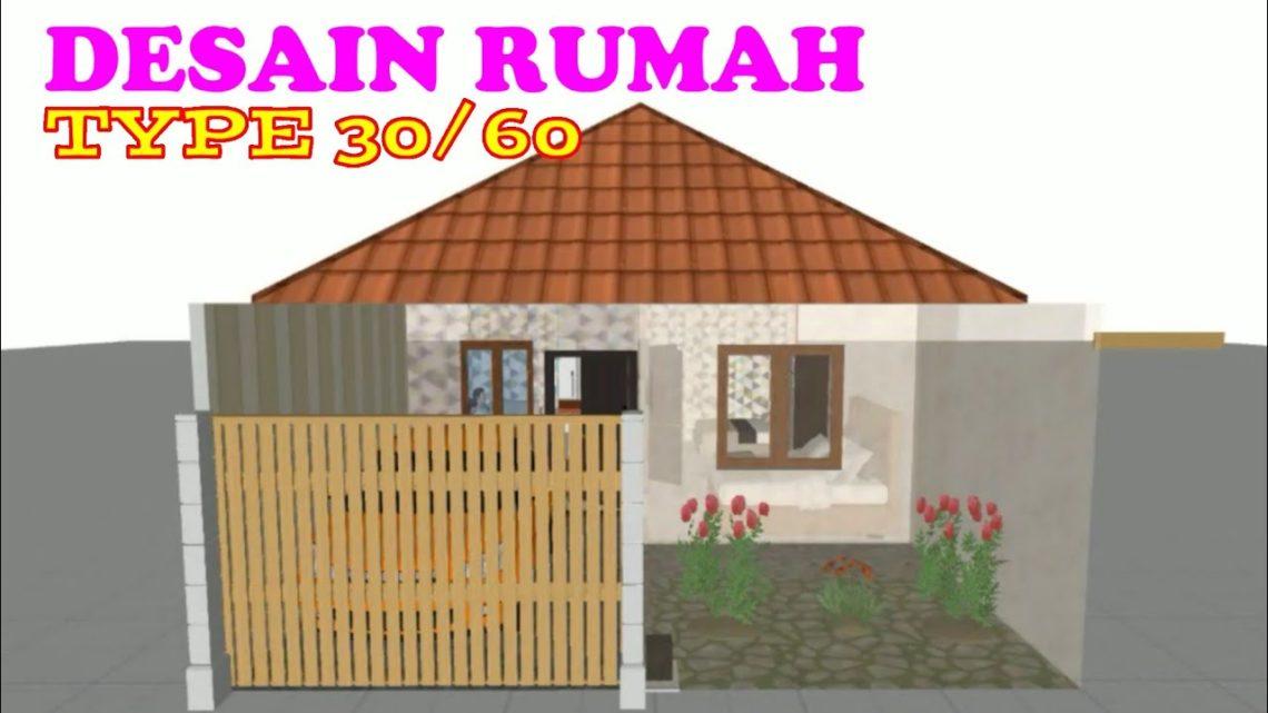 Renovasi Tampak Depan Rumah Minimalis  desain grafis renovasi rumah subsidi type 30 60 tampilan 3d