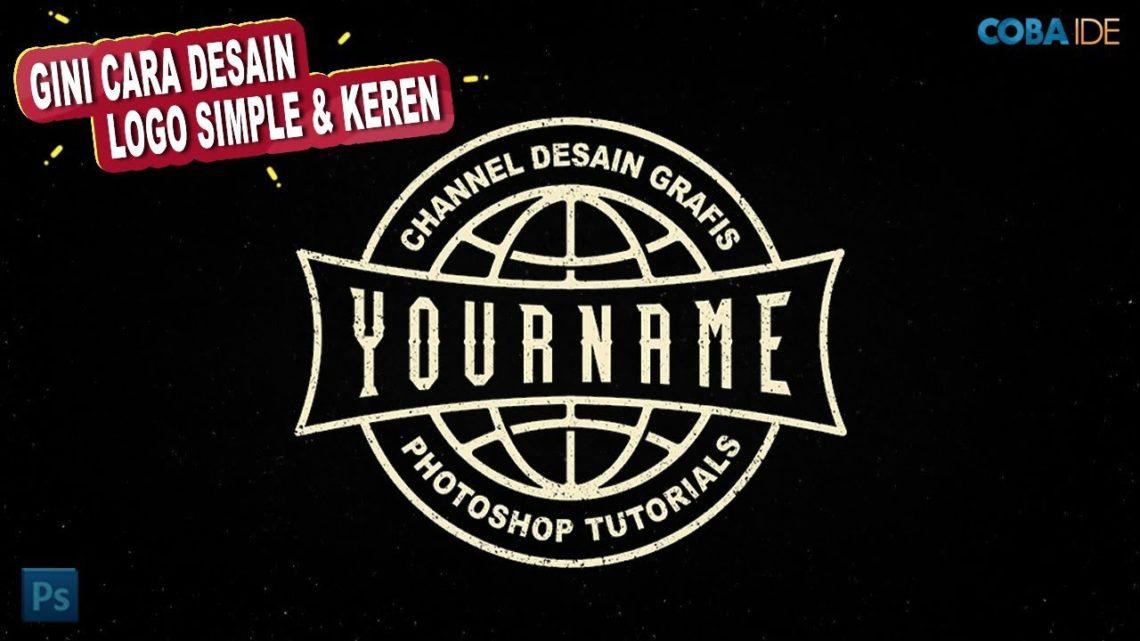 Cara Membuat Desain Logo Globe Di Photoshop Logo Distro Photoshop Tutorial Okuta Marketing Blog