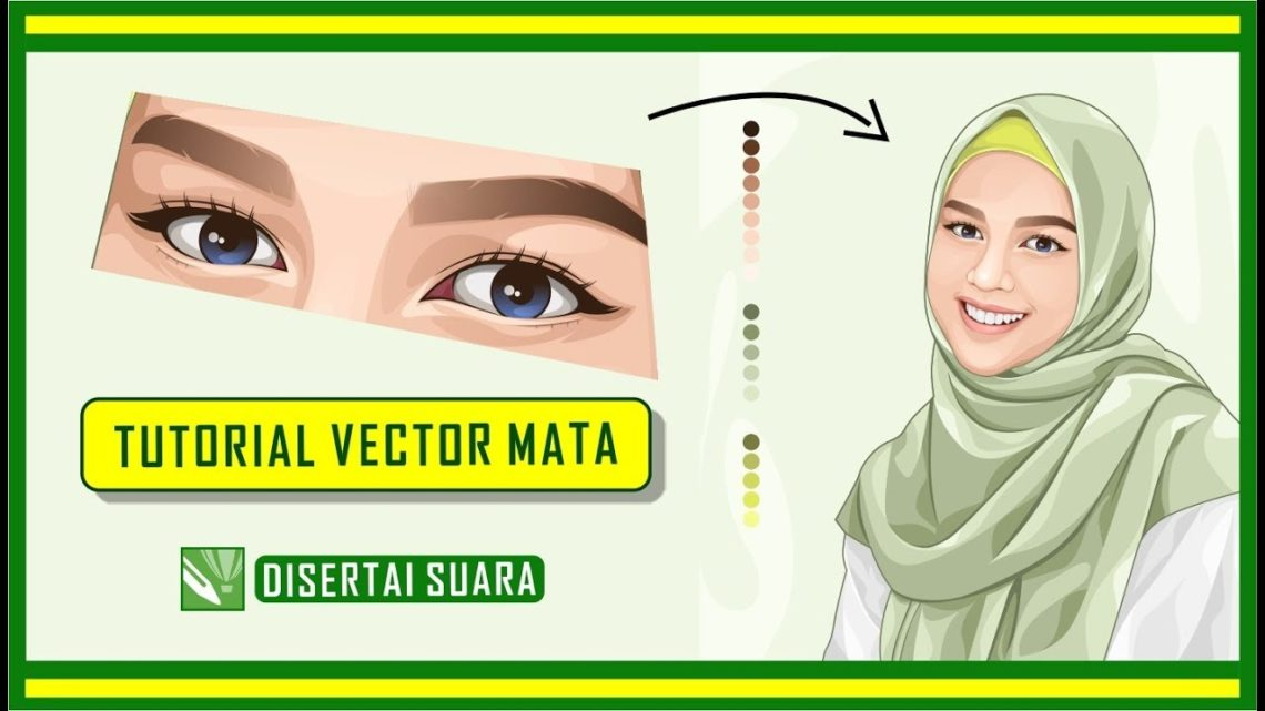 Tutorial Vector Mata Coreldraw Blog Okuta